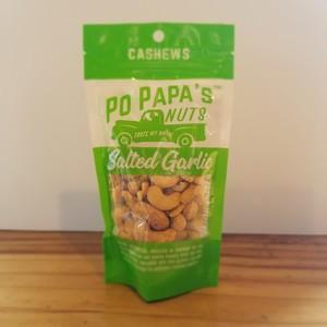 Po Pappa's Salted Garlic Cashews